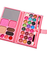cheap -3 Colors Dry Brightening / Non Toxic / Convenient Powder / Blush / EyeShadow China Sweet / Fashion Easy to Carry / Youth School / Date / Quinceañera & Sweet Sixteen Powder Makeup Cosmetic Other