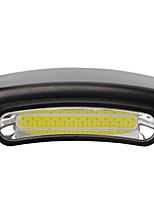 cheap -LED Light 50 lm LED LED Emitters 1 Mode Portable Camping / Hiking / Caving Everyday Use Fishing Black