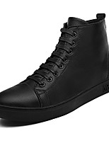 cheap -Men's Comfort Shoes Microfiber Fall & Winter Sneakers Black