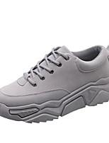 cheap -Men's Comfort Shoes PU Fall & Winter Sneakers Height-increasing Black / Camel / Gray