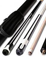cheap -JIANYING 2-Piece Pool Cues Cue Sticks Canadian Maple Pool Nine-Ball 19oz 1 set Sports Portable Lightweight High Quality