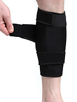 cheap -Leg Sleeves Calf Support Calf Compression Sleeves Sporty for Running Marathon Football / Soccer Elastic Breathable Sweat-wicking Men's Women's Rubber 1pc Sports Black