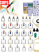 cheap -32P Gas tank vacuum cupping device / household suction cupping cup / glass beauty salon special cupping / dehumidification genuine set