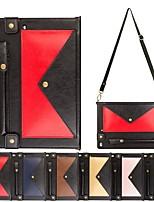 cheap -Case For Apple iPad Mini 3/2/1 / iPad Mini 4 / iPad Mini 5 Wallet / Card Holder / with Stand Full Body Cases Geometric Pattern PU Leather