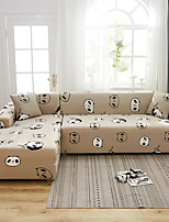 cheap -Panda Pattern Dustproof All-powerful Slipcovers Stretch Sofa Cover Super Soft Fabric Couch Cover with One Free Pillow Case