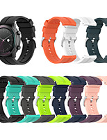 cheap -Watch Band for Huawei Watch GT Active / Huawei Watch GT2 46mm / Huawei Watch GT2 42mm Huawei Modern Buckle Silicone Wrist Strap