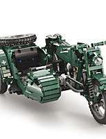 cheap -Building Blocks 629 pcs Military compatible Legoing Simulation Motorcycle All Toy Gift / Kid's