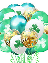 cheap -St Patrick's Day Pride Lucky Clover Balloon Irish Pub Decoration 1pc