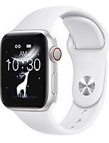 abordables -wt8 smartwatch bluetooth fitness tracker supporte la fréquence cardiaque / la pression artérielle compatible téléphones apple / samsung / andriod