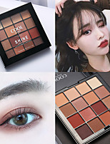 cheap -16 Colors Eyeshadow Matte Eye EyeShadow Cream Kits Easy to Carry Easy to Use lasting Long Lasting Natural water-resistant Daily Makeup Halloween Makeup Party Makeup Cosmetic Gift