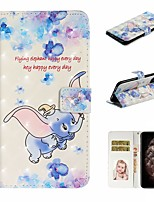 cheap -Case For Apple iPhone 11 / iPhone 11 Pro / iPhone 11 Pro Max Wallet / Card Holder / with Stand Full Body Cases Animal PU Leather For iPhone XS Max/XS/XR/X/8 Plus/7/6/6s Plus/5/5S/SE