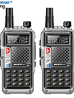 cheap -2PCS BaoFeng BF-UVB3 Plus Walkie Talkie Powerful Ham CB Radio Transceiver  8W 10km Long Range Handheld Radio for forest & city
