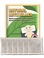 cheap -Acarid removing pad anti acarid removing pad sticking on the bed domestic natural plant acarid removing 6pcs