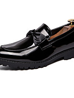 cheap -Men's Dress Shoes Synthetics Spring & Summer / Fall & Winter Casual / British Loafers & Slip-Ons Non-slipping Black / White / Blue / Party & Evening