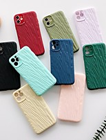 cheap -Case With (HD)Tempered Glass Front Screen Protector For Apple iPhone 11 /11 Pro /11 Pro Max Frosted / Embossed Back Cover Solid Colored TPU for iPhone 7/7P/ 6 /6p/XS/XR/XS MAX