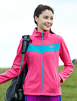 cheap -Women's Hiking Fleece Jacket Winter Outdoor Fleece Lining Warm Comfortable Winter Fleece Jacket Single Slider Climbing Camping / Hiking / Caving Winter Sports Royal Blue / Blue / Pink