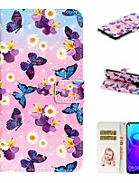 cheap -Case For Huawei Honor 10 Lite /Honor 7A / Mate 10 lite Wallet / Card Holder / with Stand Full Body Cases Butterf PU Leather For Huawei Mate 20 lite/Y6 2018/Mate 30 lite/Mate 30 Pro/Mate 30/Mate 20 Pro