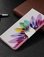 cheap -Case For Samsung Galaxy S20 Ultra / S20 Plus / S10 Plus Wallet / Card Holder / with Stand Full Body Cases Sun Flower PU Leather Case For Samsung S9 / S9 Plus / S8 Plus / S10E /S7 Edge
