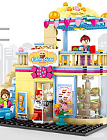 cheap -Building Blocks 366 pcs Architecture compatible Legoing Simulation All Toy Gift / Kid's