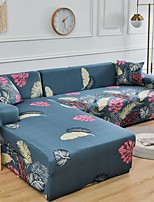 cheap -Sofa Cover Floral / Neutral / Contemporary Printed Polyester Slipcovers