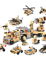 cheap -Building Blocks 103-110 pcs Military compatible Legoing Simulation Tank All Toy Gift / Kid's