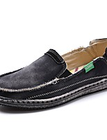 cheap -Men's Comfort Shoes Canvas Spring & Summer Casual Loafers & Slip-Ons Black / Blue / Gray
