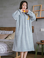 cheap -Adults' Kigurumi Pajamas Onesie Pajamas Flannelette Pink / Light Blue Cosplay For Men and Women Animal Sleepwear Cartoon Festival / Holiday Costumes