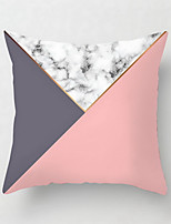 cheap -1 pcs Polyester Pillow Cover Sofa Holds Pillow Pink Geometry Sitting Room Cushion for Leaning on Pillow the Head of a Bed Cushion for Leaning on Chair Contracted Back Cushion Car Waist Pillow Holds