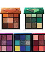 cheap -9 Colors Eyeshadow Matte Eye EyeShadow Cream Kits Easy to Carry Easy to Use lasting Long Lasting Natural water-resistant Daily Makeup Halloween Makeup Party Makeup Cosmetic Gift