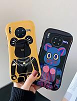 cheap -Case For Huawei Huawei P20 / Huawei P20 Pro / Huawei P30 Shockproof Back Cover Cartoon TPU