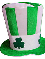 cheap -St Patrick's Day Pride Lucky Clover Hat Decorative Holiday Sell Irish Pub DecorForest Green 1pc
