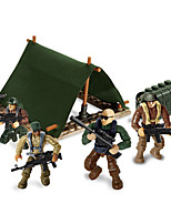 cheap -Building Blocks 78 pcs Warrior Military compatible Legoing Simulation All Toy Gift / Kid's