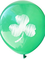 cheap -St Patrick's Day Pride Green Clover Balloon Irish Pub Decoration 1pc