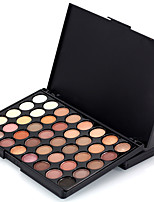 cheap -40 Colors Eyeshadow Eyeshadow Palette Matte Cosmetic EyeShadow Face Easy to Carry Women Best Quality Pro Ultra Light (UL) Girlfriend Gift Safety Convenient Daily Makeup Halloween Makeup Party Makeup