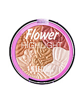 cheap -5 Colors Dry Brightening / Non Toxic / Convenient Blush / Highlighter / EyeShadow China Sweet / Fashion Kits / Women / Youth Prom / School / Date Powder Makeup Cosmetic Glitter