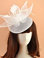 cheap -Net Fascinators with Feather 1 Piece Wedding Headpiece