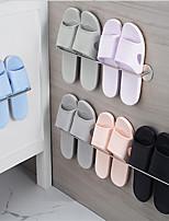 abordables -antirouille 3m auto-adhésif 304 # chaussures en acier inoxydable rack tour cintre serviette barre salle de bain crochet nickel brossé 3m29