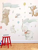 cheap -Decorative Wall Stickers - Plane Wall Stickers Animals / Stars Nursery / Kids Room