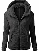 cheap -Women's Hiking Fleece Jacket Winter Outdoor Fleece Lining Warm Comfortable Winter Fleece Jacket Single Slider Climbing Camping / Hiking / Caving Winter Sports Black / White / Ivory / Army Green / Pink