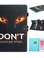 cheap -Case For Apple iPad Air / iPad (2018) / iPad 10.2''(2019) Card Holder / with Stand / Flip Full Body Cases Word / Phrase PU Leather For iPad Pro 10.5/iPad Air 2/iPad 2017