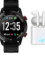 cheap -Indear V09  Women Smart Bracelet Smartwatch ECGPPG BT Fitness Equipment Monitor Waterproof with TWS Bluetooth Wireless Headphones Music Headphones for Android Samsung/Huawei/Xiaomi iOS Mobile Phone