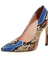 cheap -Women's Heels Stiletto Heel Pointed Toe PU Classic Spring &  Fall Green / Blue / Pink / Party & Evening