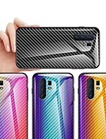 cheap -Case For Vivo Vivo Y67 / Vivo X20 Plus / Vivo X20 Shockproof / Dustproof / Ultra-thin Back Cover Color Gradient Carbon Fiber