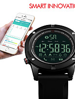 cheap -SKMEI 1425 Sports Bluetooth Watches Men Pedometer Calorie Smartwatches Remote Camera LED Digital Wristwatches