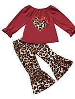 cheap -Kids Boys' Basic Color Block Long Sleeve Clothing Set Black