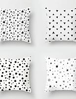 cheap -4pcs Throw Pillow Simple Classic 45*45 cm  Cushion Vintage Circle Cover Sofa Home Decor Throw Pillow Case