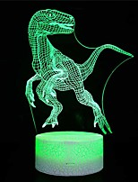 cheap -Crack section / Amazon explosion models / home dinosaur 3d night light / led colorful lights / usb powered bedside creative / gift table lamp