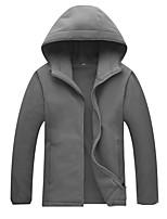 cheap -Men's Hiking Fleece Jacket Winter Outdoor Windproof Fleece Lining Warm Comfortable Jacket Winter Fleece Jacket Top Fleece Single Slider Climbing Camping / Hiking / Caving Winter Sports Black / Army