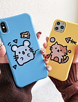 cheap -Case For Apple iPhone 11 / iPhone 11 Pro / iPhone 11 Pro Max Shockproof / Ultra-thin / Pattern Back Cover Animal / Cartoon TPU