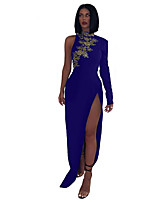 cheap -Women's Elegant Sheath Dress - Solid Colored Black Wine Navy Blue S M L XL